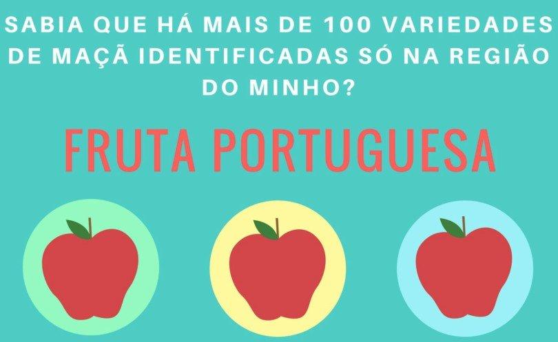 Infografia: há mais de 100 variedades de maçã portuguesa só no Minho