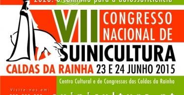 Caldas da Rainha recebe Congresso Nacional de Suinicultura a 23 e 24 de junho