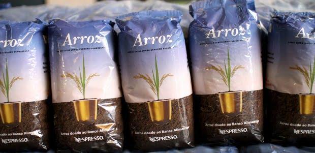 Reciclagem de cápsulas Nespresso dá 67 toneladas de arroz ao Banco Alimentar