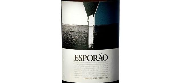 Brancos Esporão com rótulos de Felipe Oliveira Baptista