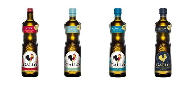 Gallo lança escala de intensidade de sabor de azeite