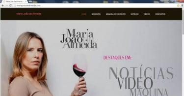 Maria João de Almeida lança novo site