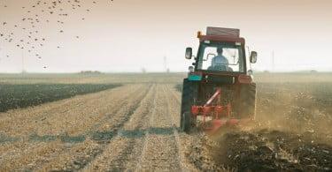 agricultor  num trator