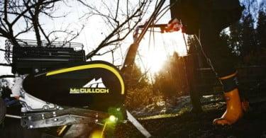 McCulloch lança gama de moto enxadas