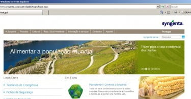 Syngenta tem novo site