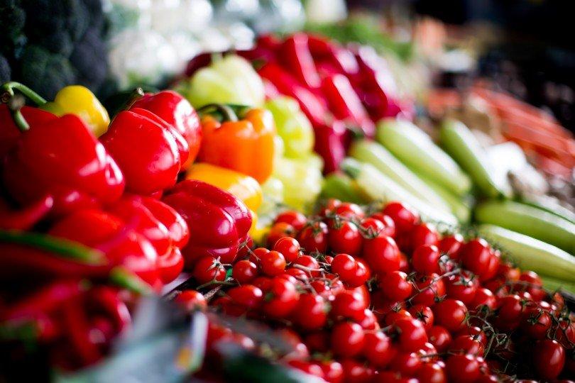 hortofrutícolas no mercado e