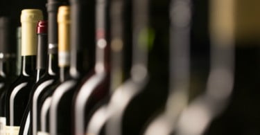 garrafas de vinho Vida Rural