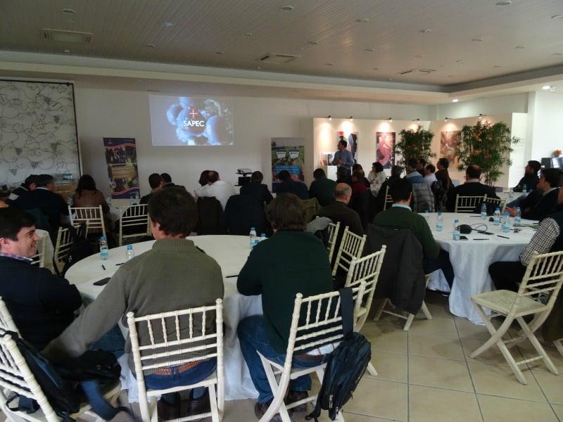 reunião distribuidores Sapec Agro Vida Rural