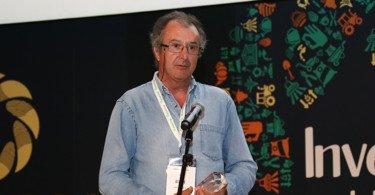 Benvindo Maçãs diretor do INIAV Elvas recebeu o Prémio