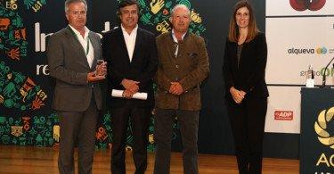 Jorge Soares Luís Trindade e José Burnay administradores da Campotec e Sofia Tavares da EDP