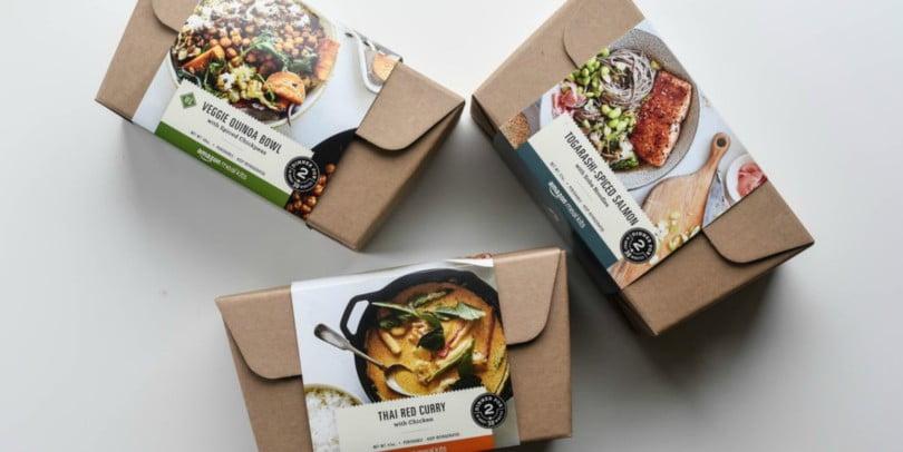 Amazon lança kits de refeições
