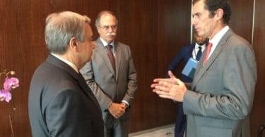 CAP debate produção mundial de alimentos com António Guterres