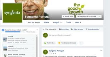 Syngenta Portugal passa a estar presente no Facebook