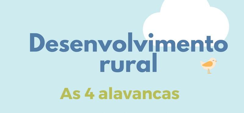 Sabe quais são as 4 alavancas do desenvolvimento rural?