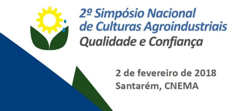 Falta menos de um mês para o 2º Simpósio Nacional de Culturas Agroindustriais