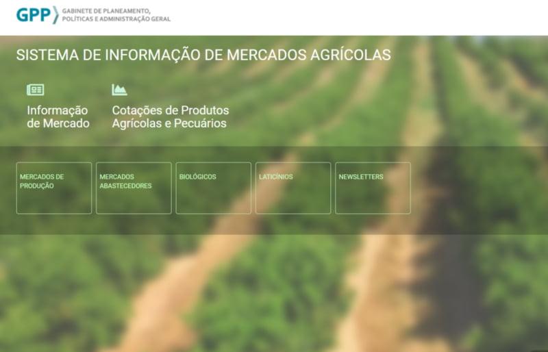 Sistema de Informação de Mercados Agrícolas tem nova plataforma