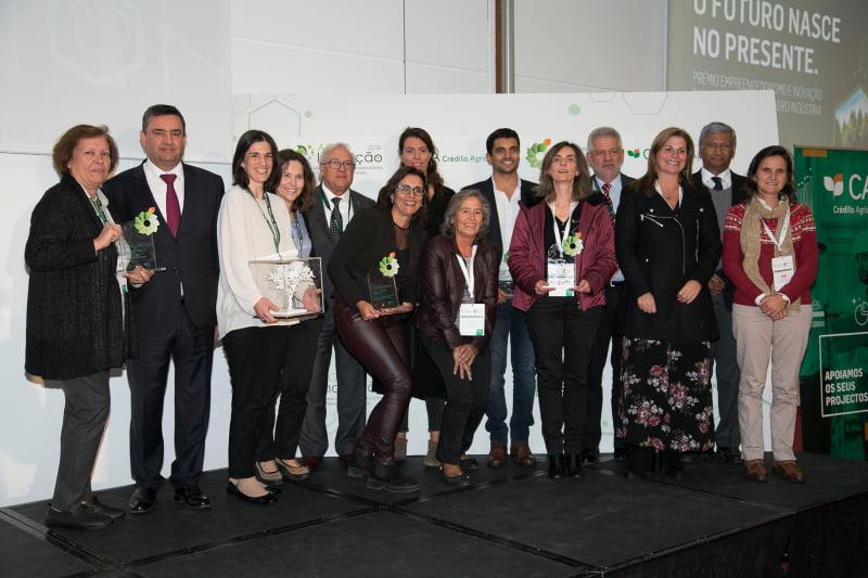 Já são conhecidos os vencedores do 'Prémio Empreendedorismo e Inovação Crédito Agrícola'