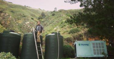 Norte-americanos criam máquina que transforma vapor da atmosfera em água potável