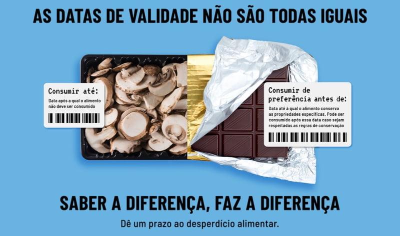 """Interpretar os prazos de validade """"faz a diferença"""" no combate ao desperdício"""