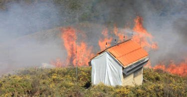 Cientistas da FCTUC desenvolvem tecnologias para proteção de pessoas e bens em incêndios