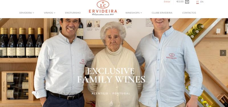 Ervideira lança loja online
