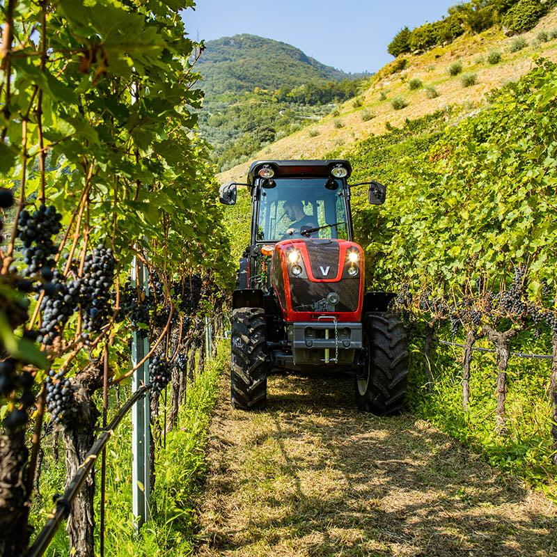 Valtra apresenta os novos tratores vinhateiros e pomareiros da Série F