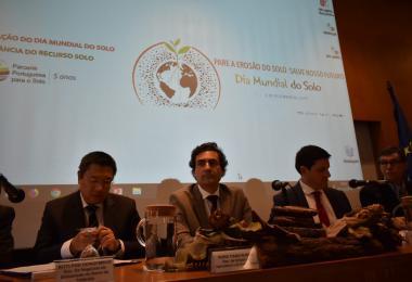Nuno Russo apela à adoção de medidas que promovam a proteção dos solos
