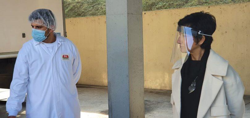 Ministra da Agricultura visita Pecnordeste para promover a carne nacional