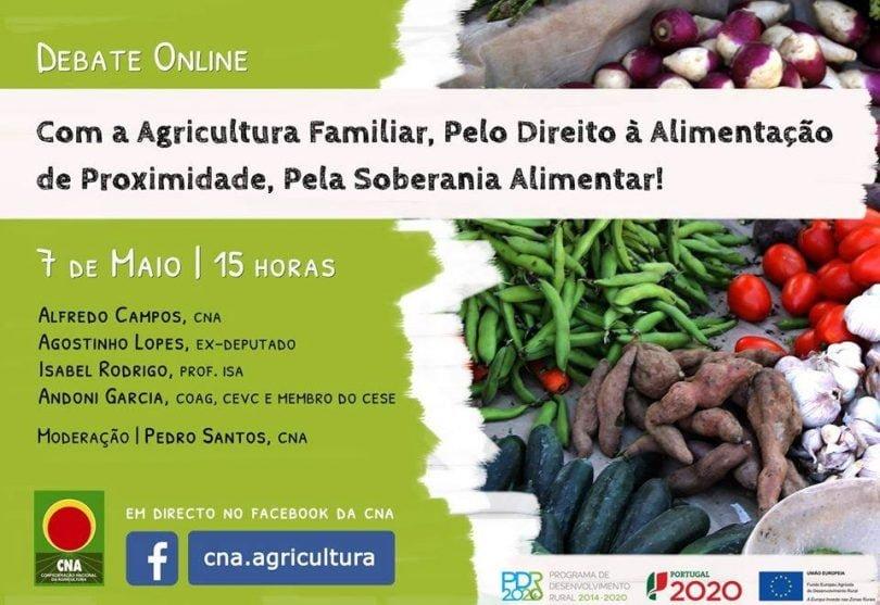 CNA realiza debate online sobre agricultura e soberania alimentar