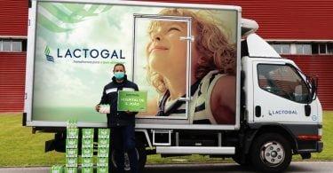 Lactogal doa 148 toneladas de leite e iogurtes a Instituições e Hospitais