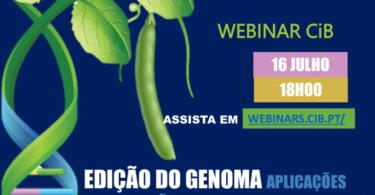 LINK webinar Edição do genoma   e