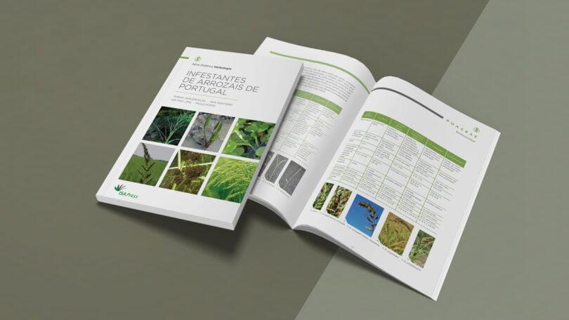 """O projeto + ARROZ lançou um livro intitulado """"Infestantes de Arrozais de Portugal"""". Adicionalmente, publicou um manual de boas práticas."""