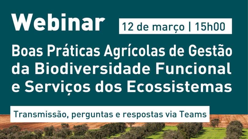 Webinar EDIA - Boas práticas agroambientais em debate