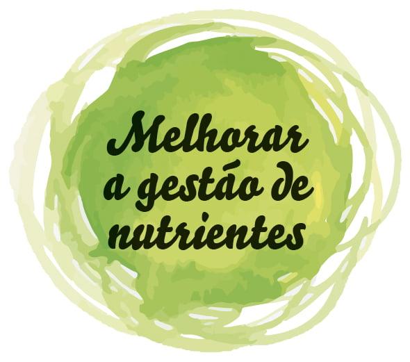 Melhorar a gestão de nutrientes - ecoregimes