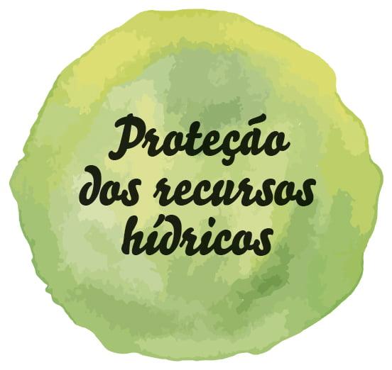 Proteção dos recursos hídricos