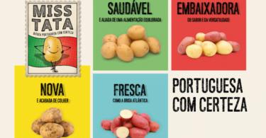 """Os produtores associados da Porbatata vão utilizar nas embalagens a marca Miss Tata """"ajudando os consumidores a identificar"""" a batata nacional."""