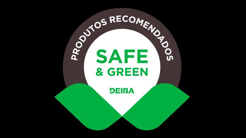 """A Deiba lançou o selo """"Safe & Green"""", de forma a realçar o seu compromisso com elevados padrões de sustentabilidade."""