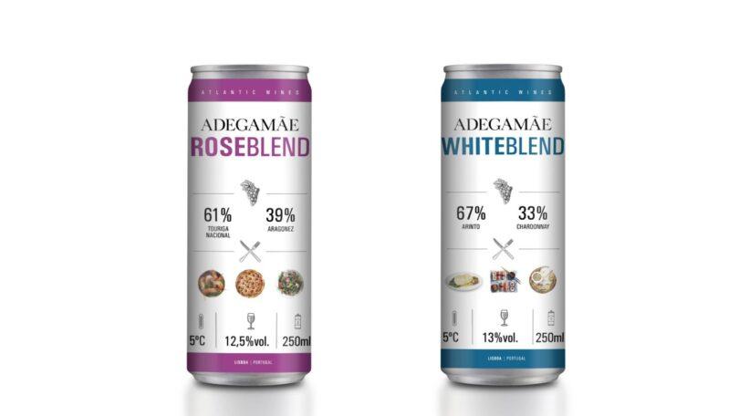 O Lidl Portugal anunciou o lançamento de dois vinhos (rosé e branco) em lata da sua marca exclusiva Adega Mãe.