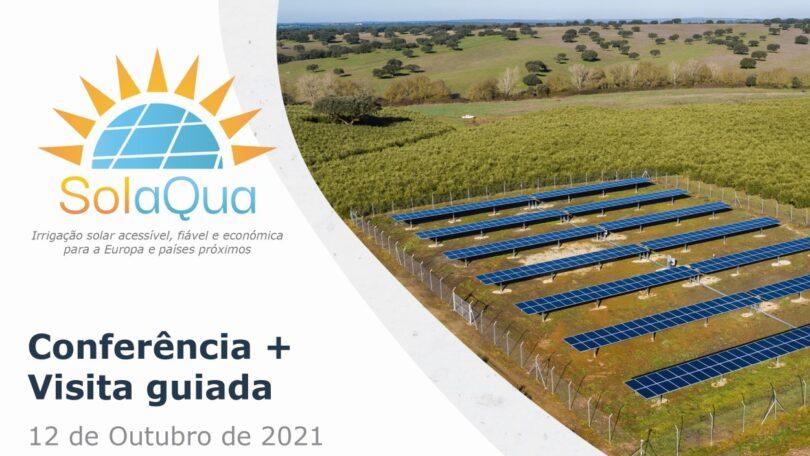A CER-UÉ está a organizar uma conferência e visita técnica guiada a um sistema demonstrador de bombagem fotovoltaica para irrigação.